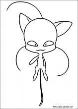 Dibujos De Miraculous Las Aventuras De Ladybug Para Colorear En