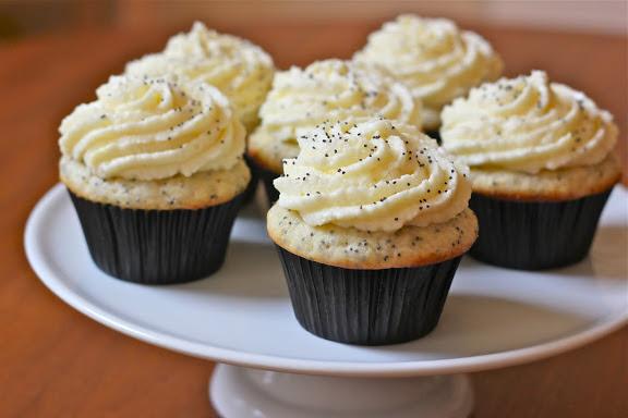 Lemon Poppy Cupcakes