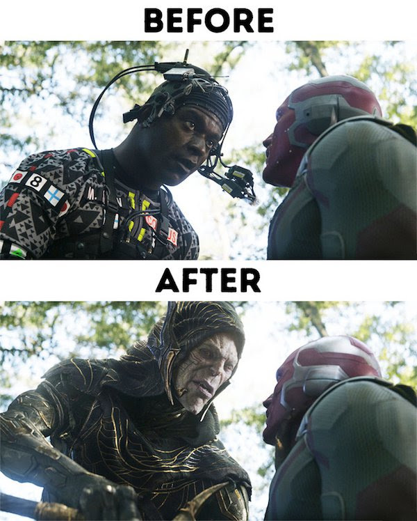 27 - 30 before and after special effects scenes