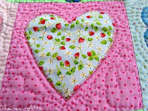 Favourite strawberry fabric