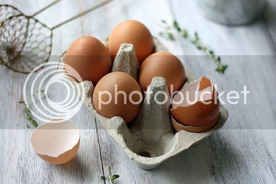 Baked eggs 1