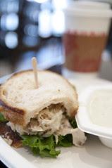 Chicken Salad Sanwich, Boudin Bakery & Cafe, San Francisco