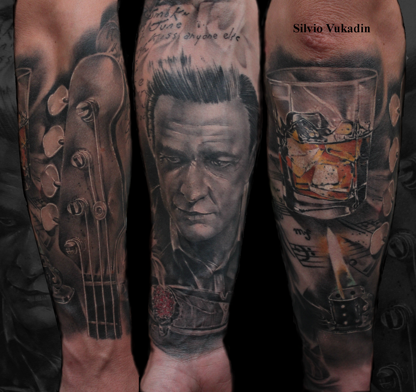 Music Themed Sleeve By Silvio Vukadin Tattoonow