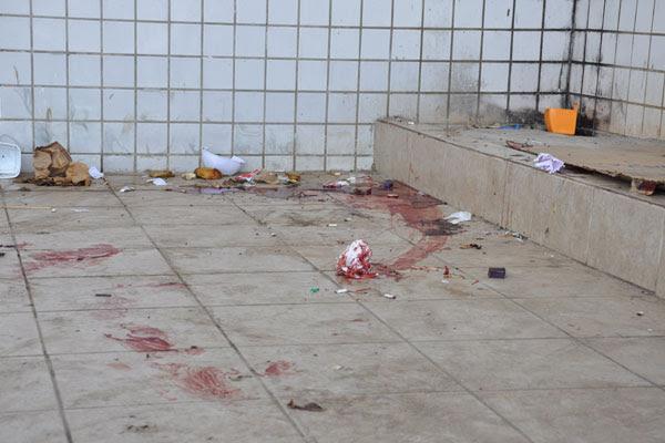 O corpo da vítima foi localizado pela polícia por volta das 7h de hoje, no estacionamento da empresa Votrans Expressos Rodoviários