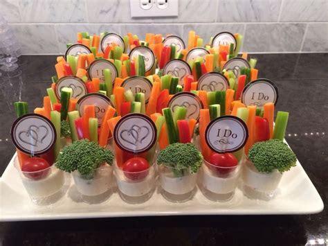 Veggie tray for a bridal shower   Danielle's Shower
