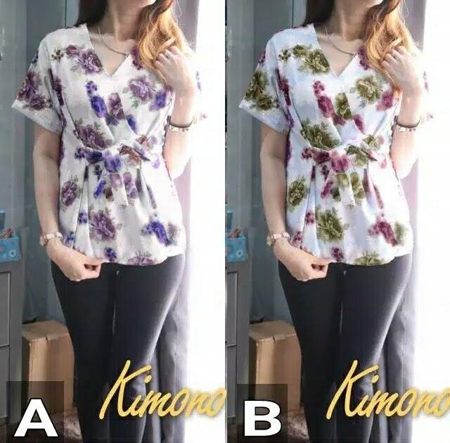 Desain Baju Batik Atasan Remaja Modern - Inspirasi Desain ...
