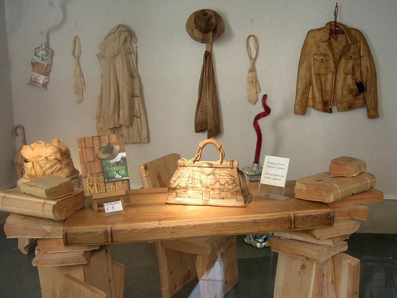 O fascinante mundo de madeira de Livio De Marchi 17