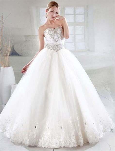 Big Wedding Dresses With Diamonds   Wedding and Bridal