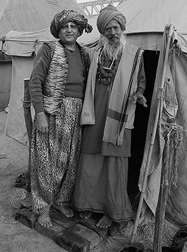 My Guru Shri Vijay Giri Maharaj Juna Akhada   Sector 5 Maha Kumbh by firoze shakir photographerno1