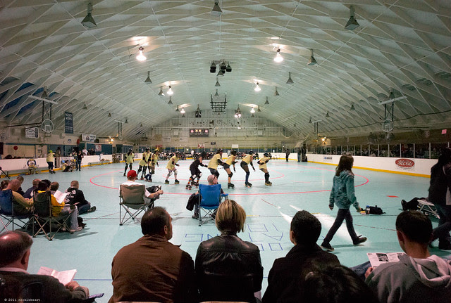 water city roller hockey as a venue for roller derby