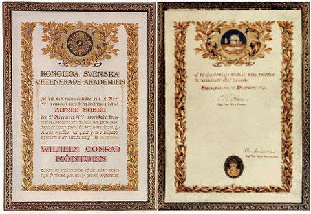 File:Nobel Prize diplom Wilhelm Conrad Röntgen.jpg