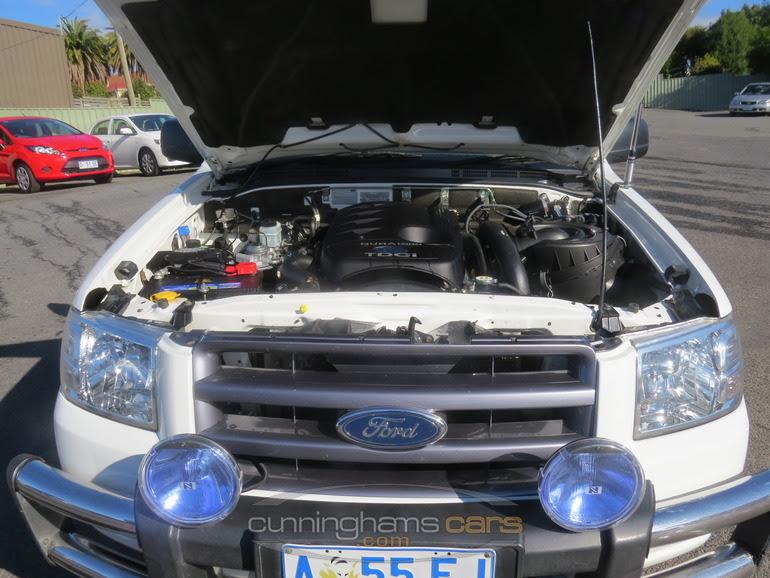 2008 ford ranger 4x2 super cab highrider flattray ute engine bay