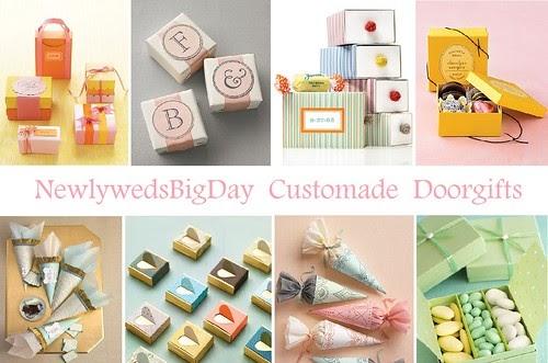 Wedding Door Gift Murah: My Wedding Journal: Handmade Door Gift