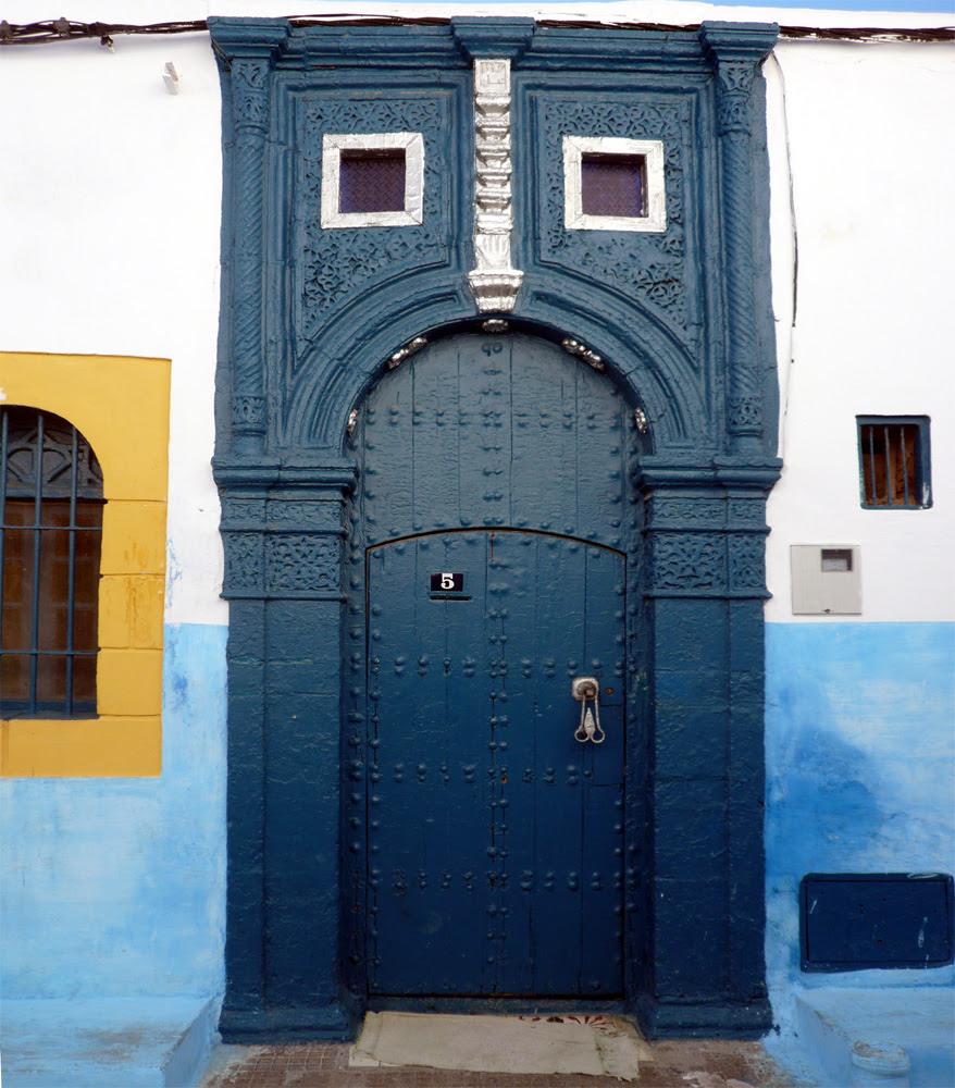 Puerta morisca en la Casbah