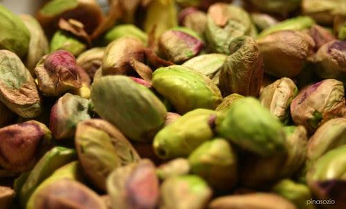 macro pistachios