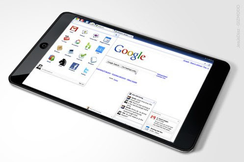 Google and HTC Tablet
