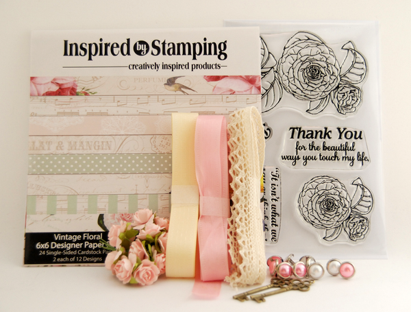 Inspired by Stamping Vintage Floral Kit