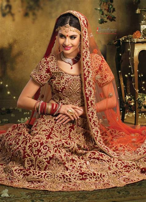 Latest Bridal Lehenga Designs 2016 Fashion in Pakistan