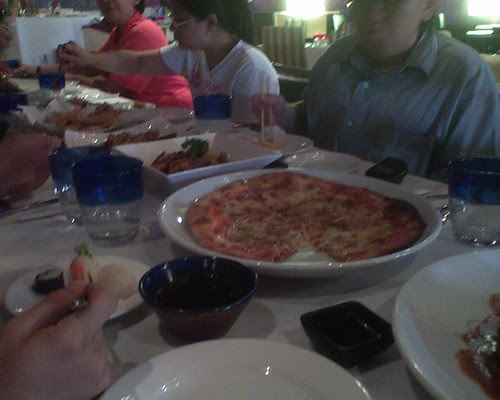 Free food from Mezza Notte 2