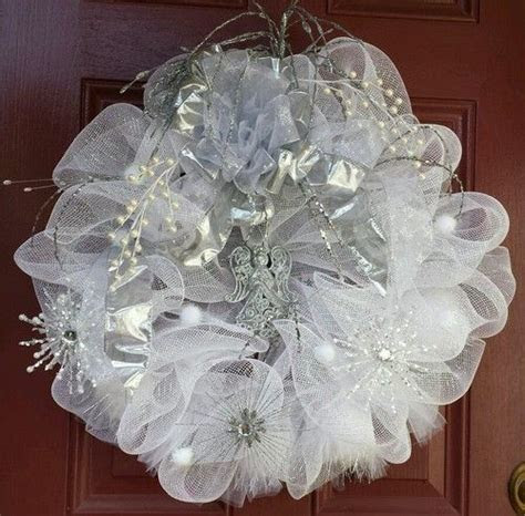 Wedding wreaths, Deco mesh and Wreaths on Pinterest