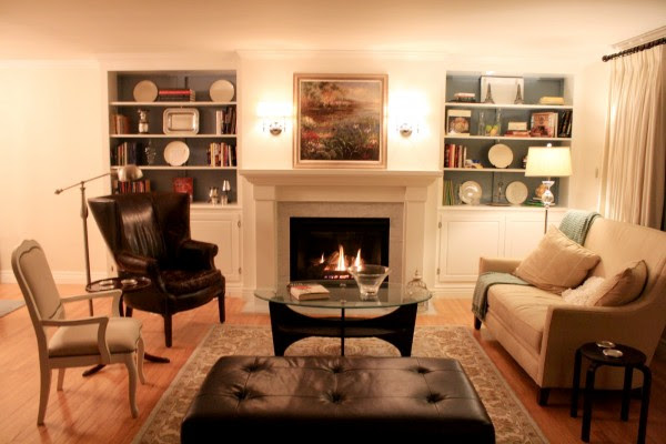 Remodelaholic | Living Room Remodel, Adding a Fireplace and Built ...