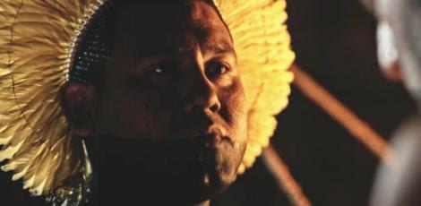 Os índios que gravaram com Domingos Montagner se emocionaram com a morte do ator. / Foto: TV Globo/Reprodução
