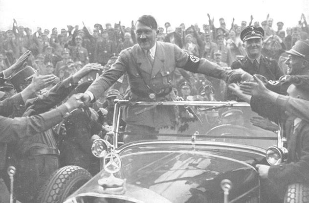 Aksidenti i makinës së Hitlerit