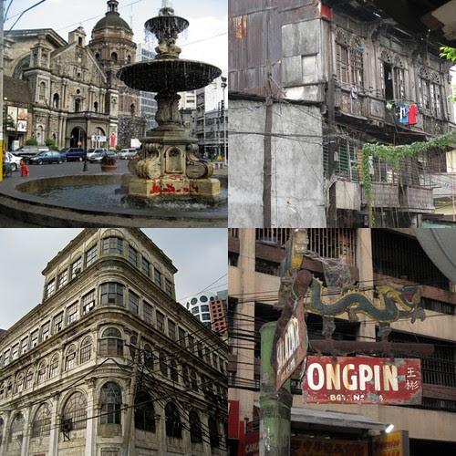 Chinatown collage