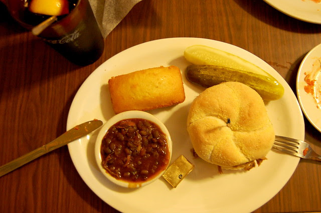 Grub Hut BBQ Dinner