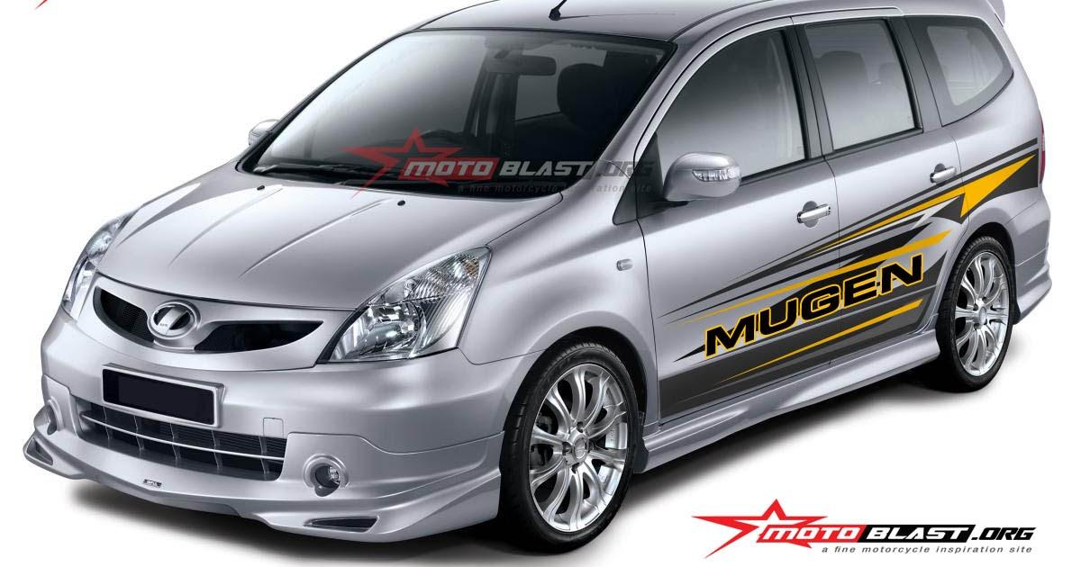 Kumpulan modifikasi stiker mobil livina terlengkap rekanotomotif