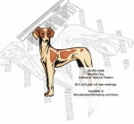 Mudhol Hound Dog Intarsia or Yard Art Woodworking Plan - fee plans from WoodworkersWorkshop® Online Store - Mudhol Hound dogs,pets,animals,dog breeds,intarsia,yard art,painting wood crafts,scrollsawing patterns,drawings,plywood,plywoodworking plans,woodworkers projects,workshop blueprints