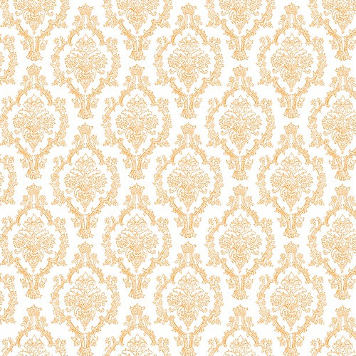 4-tangerine_BRIGHT_PENCIL_DAMASK_OUTLINE_melstampz_12_and_half_inch_SQ_350dpi