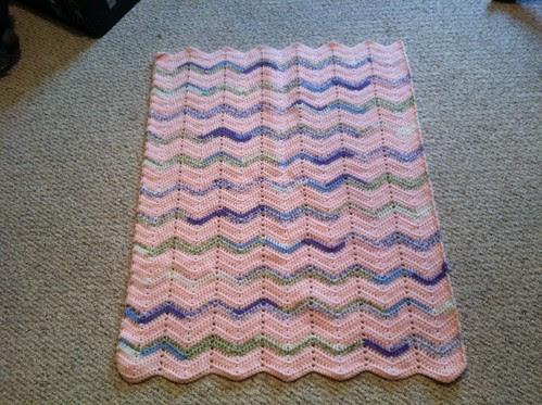 Ripple blanket for Sky