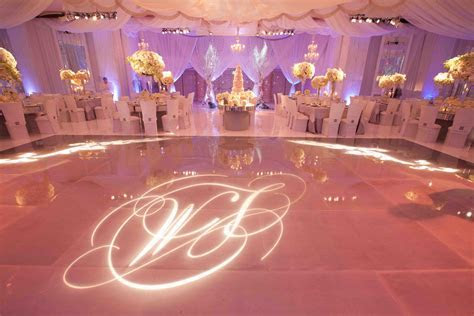 Monogram Wedding Decorations & Ideas   Inside Weddings