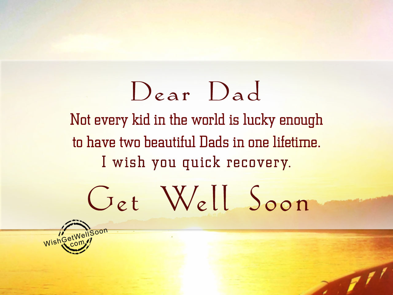 Get Well Soon Wishes For Step Father Pictures Images
