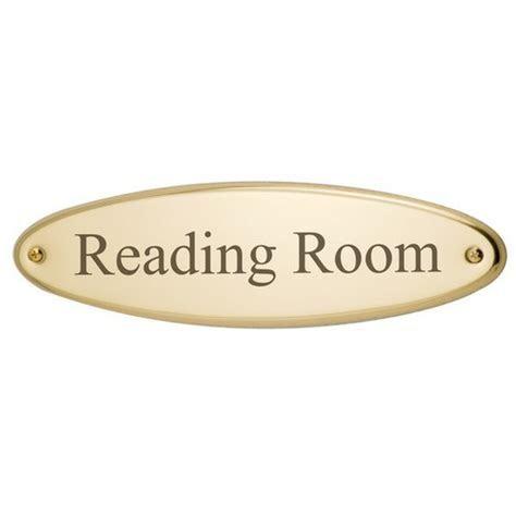 Brass Door Plate Oval 3 1/16 x 11