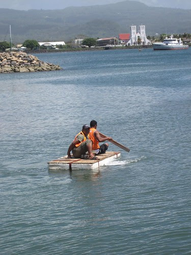 Apia marina worker transport