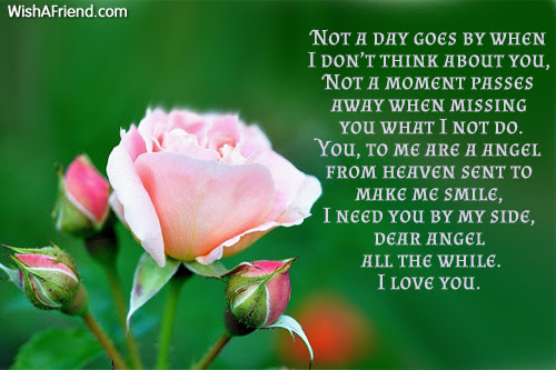 You Are My Angel Love Poem