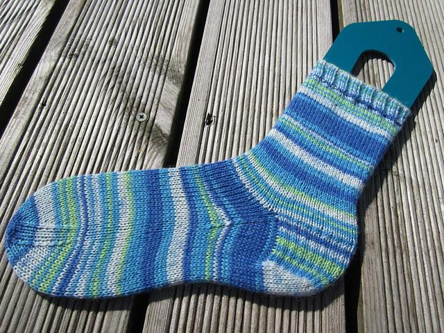 Plain Vanilla sock no.3