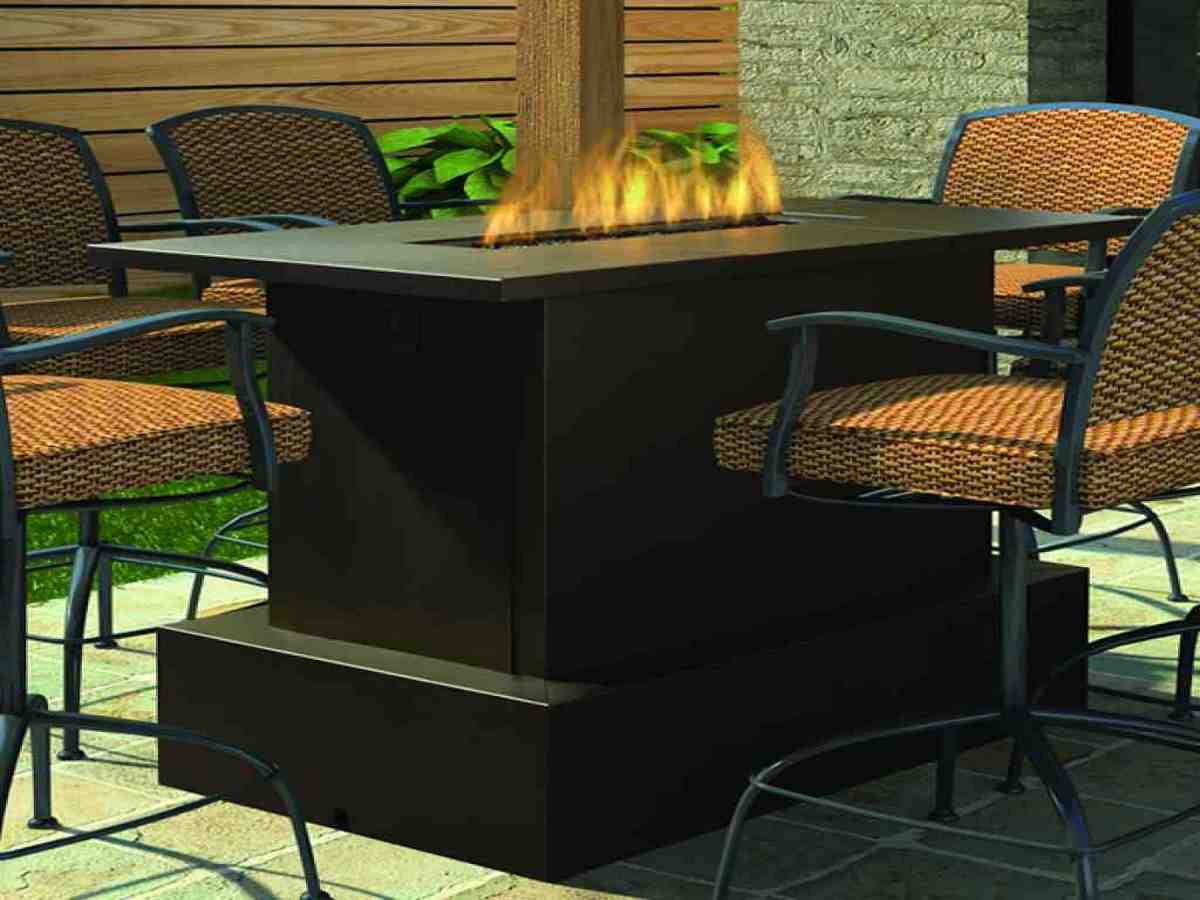 Fire Pit Tables Woodlanddirect Outdoor Fireplaces Patio ...