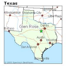 Map Of Glen_Rose