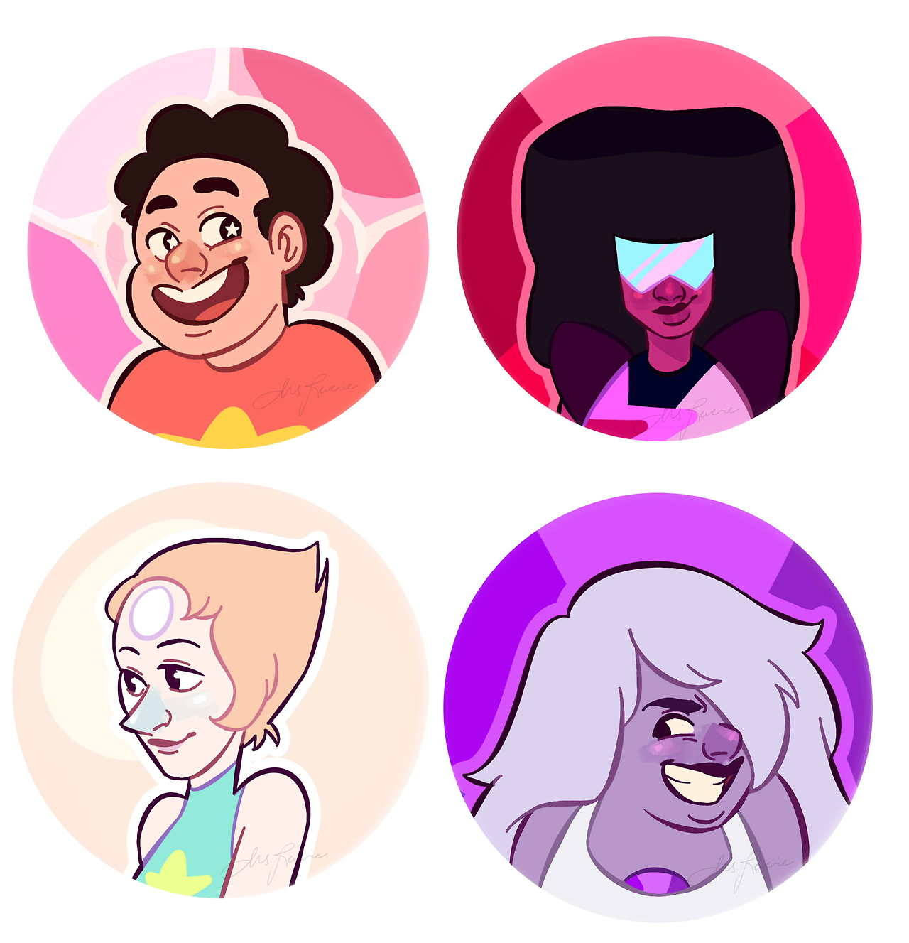 some SU stickers I'll be selling in Otaku Expo :)