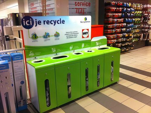 Recyclage à Darty La Défense (92)