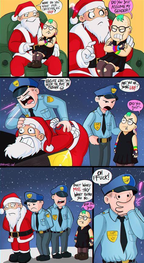 merry christmas   shadman gag