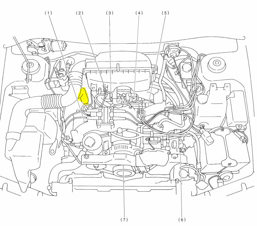 2001 Subaru Outback Engine Diagram