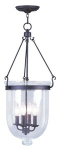 1STOPlighting.com | Jefferson - Four Light Chain Hanging Lantern