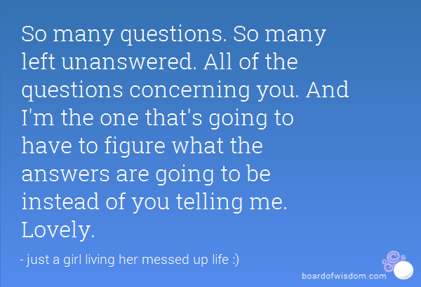 Quotes About Living The Questions 49 Quotes