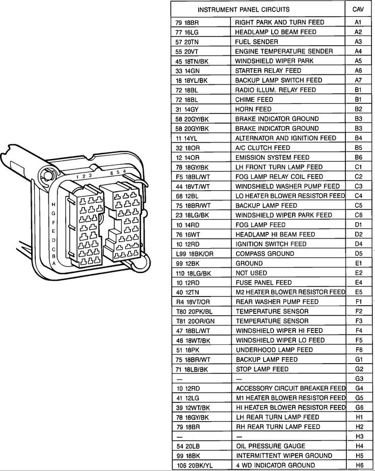 Wiring Diagram  35 1989 Jeep Wrangler Wiring Diagram