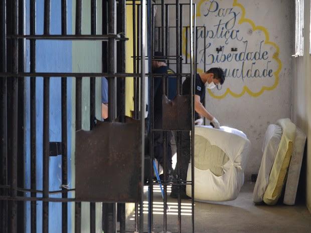 Operação contou com participação de 100 agentes (Foto: Sejus/Divulgação)