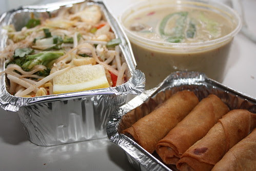 delicious takeout from sawadee